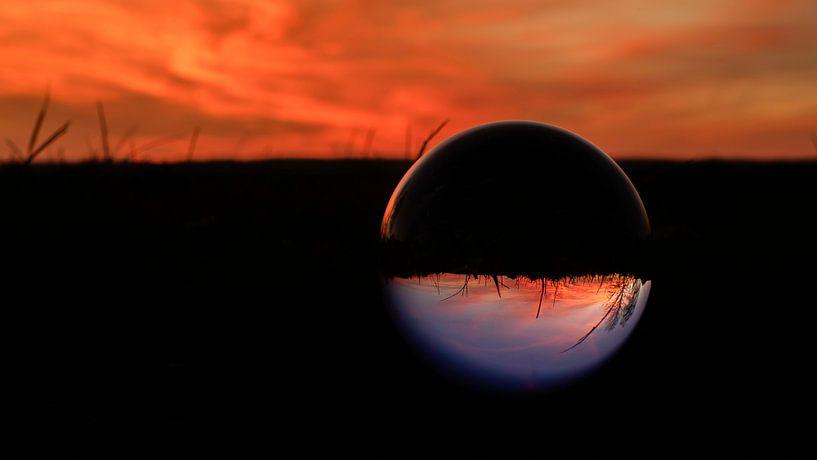Sunset Kristallkugel 01 von Alexander Schulz
