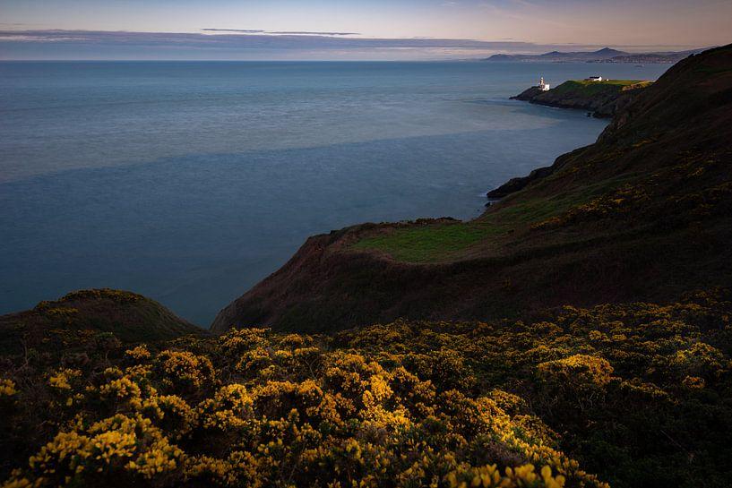 Baily Lighthouse Zonsondergang van Ronne Vinkx