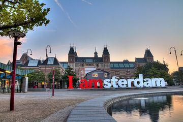 Museumplein Rijksmuseum von Dennis van de Water