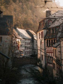 Monschau bei Sonnenaufgang von Thomas Kuipers
