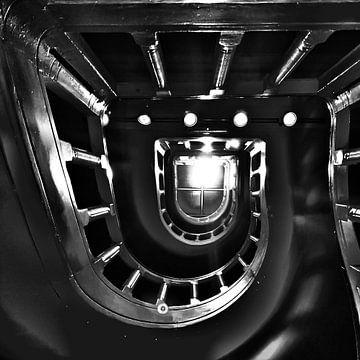 Een trappenhuis in Amsterdam von SPOOR Spoor