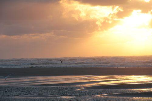 Ameland surfer