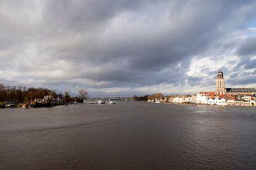 Deventer rivierzicht van Geert Hoekstra