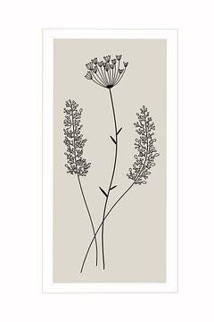 Pure Nature Edition Grijs I van Munich Art Prints