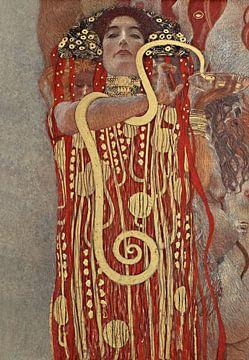 Hygieia - Gustav Klimt van Rudy en Gisela Schlechter