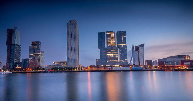 Die Wilhelminapier in Rotterdam. von Patrick Schenk