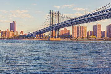 De bruggen in Dumbo New York 10 van FotoDennis.com