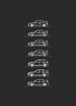 Subaru WRX Entwicklung von Artlines Design