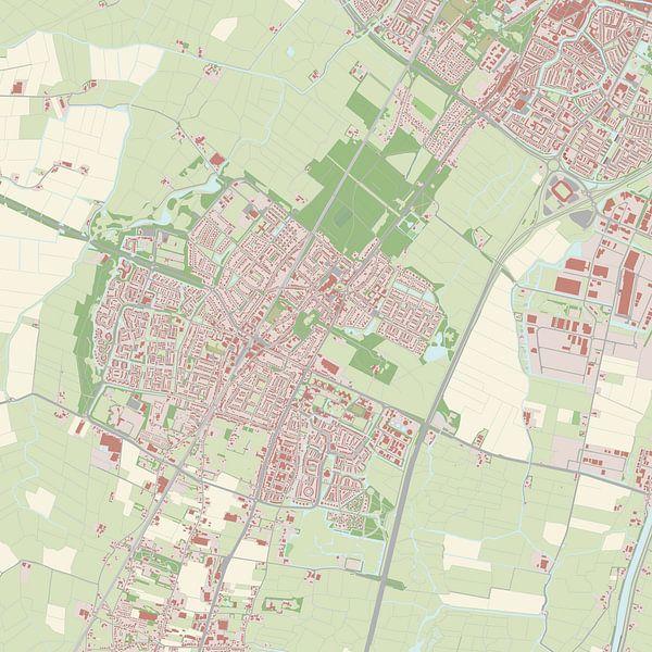 Kaart vanHeiloo