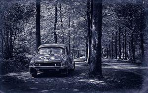 Citroën DS 23 Pallas Retro Blauw