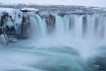 Der Godafoss-Wasserfall - Island von Danny Budts
