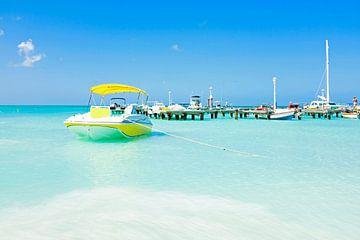 Palm Beach auf Aruba in den Niederländischen Antillen von Nisangha Masselink