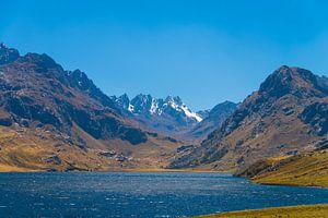Meer in Andes gebergte in Peru