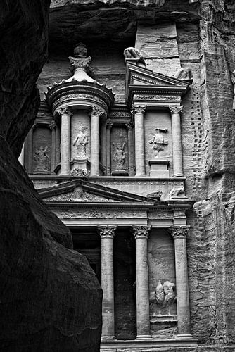 Petra Jordan, noir et blanc sur Imca van de Weem