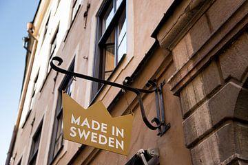 Straßenbild von Stockholm von Karijn Seldam