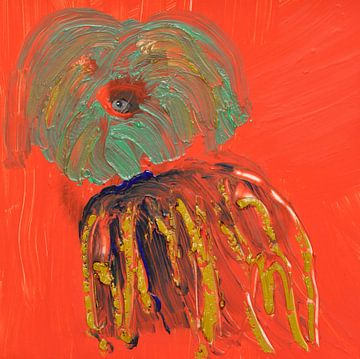 Puppy sur Jose Beumers