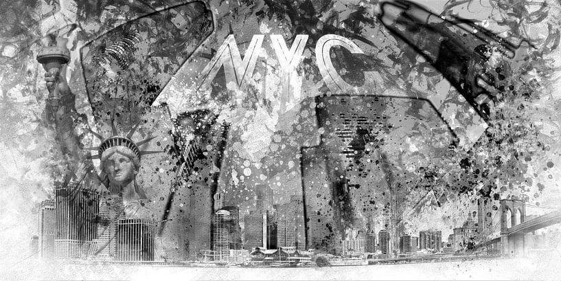 Modern Manhattan Composing van Melanie Viola
