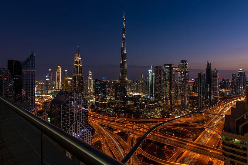 Centre ville de Dubaï sur Arno Lambregtse