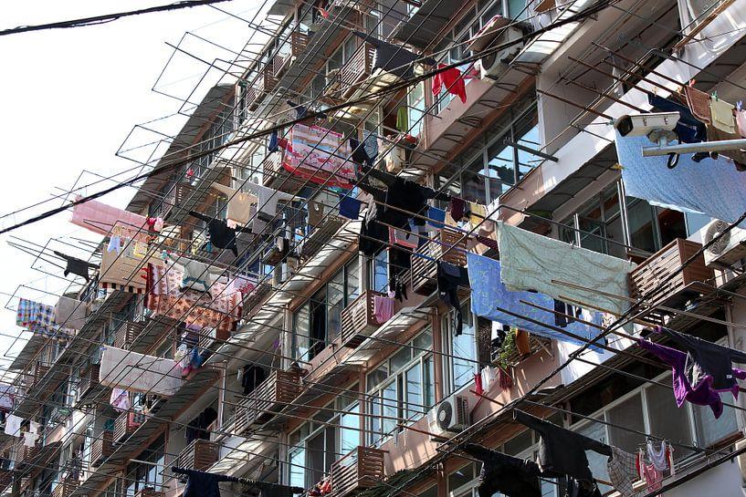 Was ophangen in Shanghai China van Ingrid Meuleman