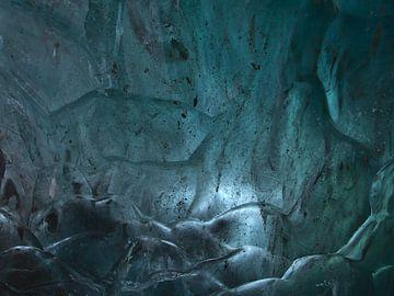 Muur van ijs van Timon Schneider