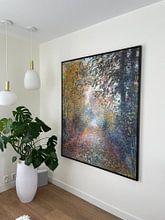Kundenfoto: Im Wald – August Renoir, auf leinwand