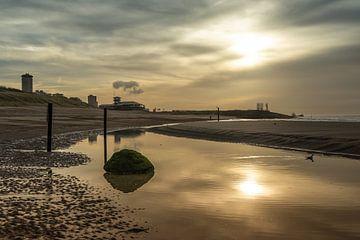 Strand von Vlissingen von Bram Huijzen