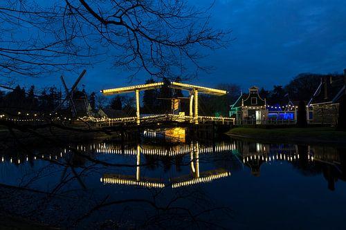 Ophaalbrug Nederlands Openluchtmuseum von