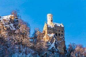 View of Lichtenstein Castle in Germany
