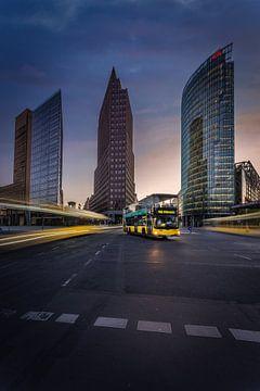 Berlin Bus von Iman Azizi