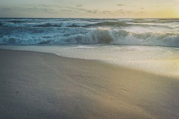Sommerabend am Strand van Beate Zoellner