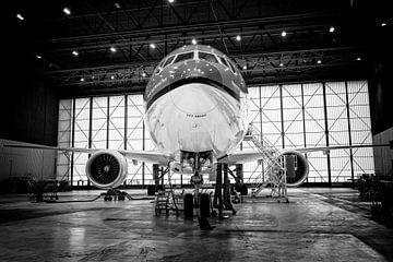 Triple Seven im Hangar von Daan van der Heijden