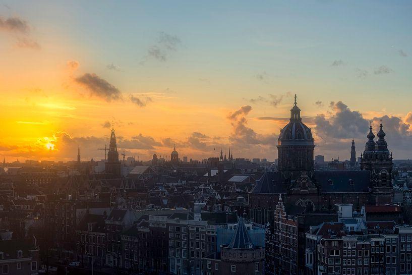 Goud in Amsterdam van Roy Poots