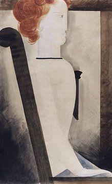 Sitzende, Oskar Schlemmer, 1929