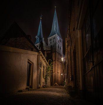 Bergkirche Deventer von Wouter Van der Zwan
