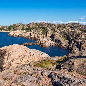 Paysage de la péninsule de Lindesnes en Norvège sur Rico Ködder