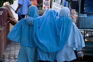 Moslima-vriendinnen