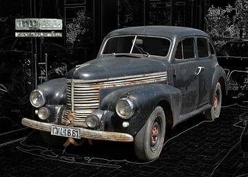 Opel Kapitän (Vorkriegsmodell) von aRi F. Huber