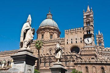 Cathédrale de Palerme sur Silva Wischeropp