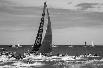 Start/Bühne Volvo Ocean Race 2015 in Scheveningen von Marian Sintemaartensdijk