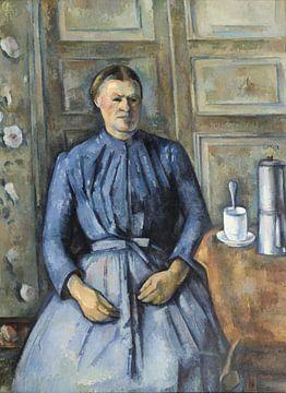Frau mit Kaffeekanne, Paul Cézanne