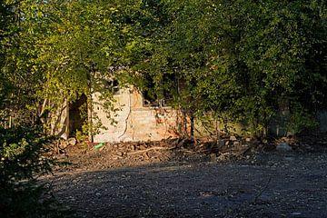 Baustelle nach dem Abriss eines Hauses von Babetts Bildergalerie