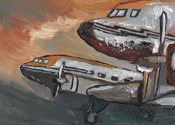Luftfahrzeug von Jolanda Janzen-Dekker