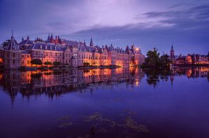 Binnenhof Den Haag Zuid-Holland - Avond foto van