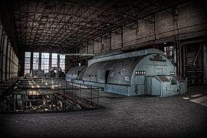 Verlaten energiecentrale 1