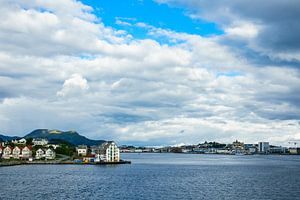 View to Alesund in Norway