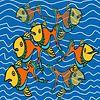 Nieuwsgierige vissen van Marijke Mulder thumbnail
