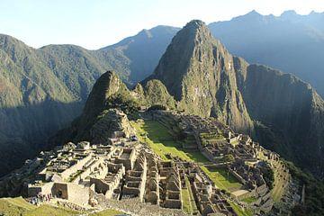 Machu Picchu Peru van Martin van den Berg Mandy Steehouwer
