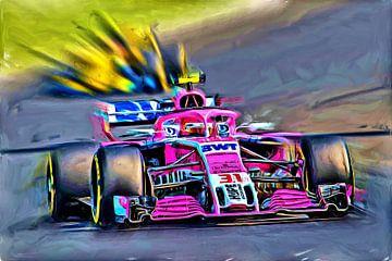 Grand Prix - Esteban Ocon van Jean-Louis Glineur alias DeVerviers