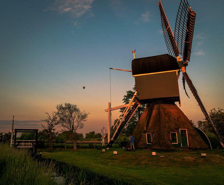 De molen van Tienhoven van Robin Pics (verliefd op Utrecht)