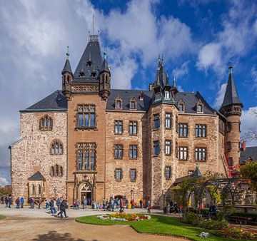 Schloss,  Wernigerode,  Harz, Sachsen-Anhalt,  Deutschland